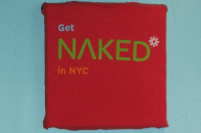 Naked Pizza in NYC!