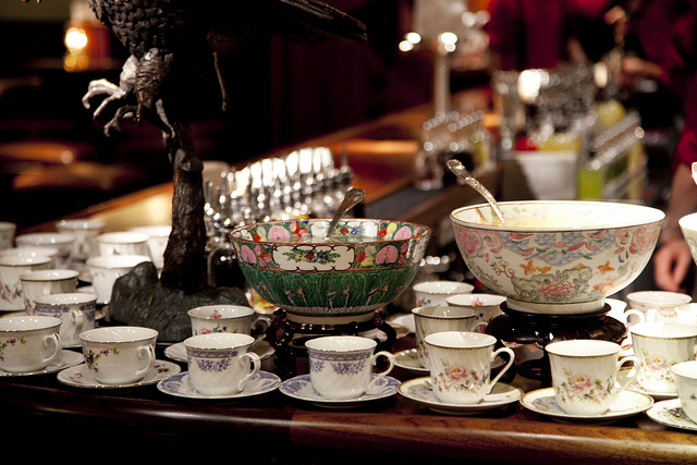 Barware, parlor style