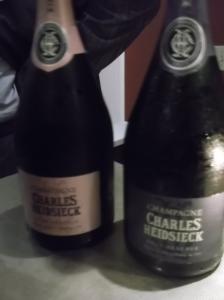 Charles Heidsieck Brut NV and Brut NV Rose