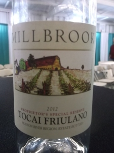 Millbrook's winning 2012 Tocai Friulano