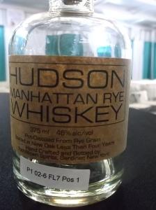 Hudson Whiskey's Manhattan Rye