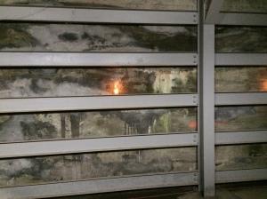 Steel-reinforced bunker