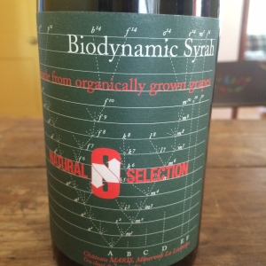 "Chateau Maris' Natural Selection ""Biodynamic Syrah"""