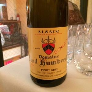 Zind-Humbrecht Pinot Gris 2012