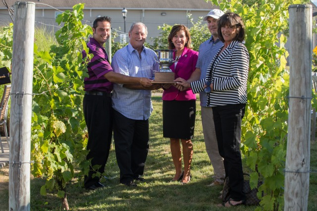 Ventosa Vineyards, Governor's Cup winner, 2015