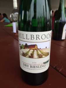 Millbrook's 2014 Proprietor's Special Reserve Dry Riesling
