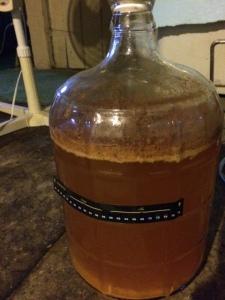 My fermenting cider